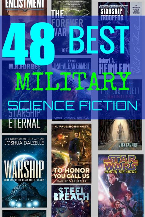 48 of the Best Military Science Fiction Books Ever
