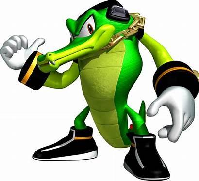 Vector Sonic Crocodile Character Hedgehog Team Leader