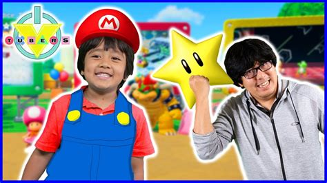 Mario Party Star Challenge Lets Play With Ryan Vs Daddy