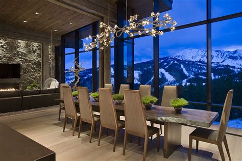 the house with a view private luxury ski resort in montana by len cotsovolos dream home style