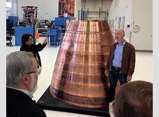 Jeff Bezos opens up Blue Origin rocket factory