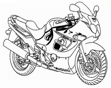 Poto Motor Balap by 10 Mewarnai Gambar Motor Balap