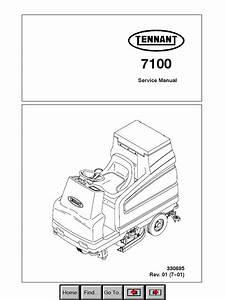 Tennant 7100 Machine Pdf Service Manual