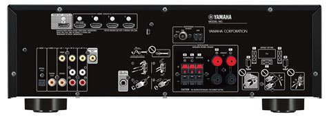 yamaha rx v483 yamaha s entry level multi channel receivers the rx v383 and rx v483 the audiophile