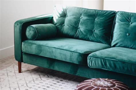 velvet sofa covers style practicality we don t think so - Velvet Sofa Covers
