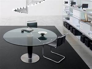 Table Ronde En Verre Pied Central : table design ronde upside gallotti radice mobilier design im lyon ~ Teatrodelosmanantiales.com Idées de Décoration