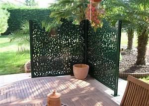 les plus beaux claustras pour isoler un jardin claustra With charming idee decoration jardin exterieur 0 sculpture contemporaine et autres idees de deco du jardin