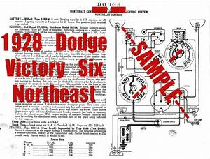 1928 Dodge Victory Six Car Wiring Diagram   Tune Up Guide