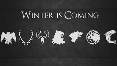 Thrones Coming Winter 4k Desktop Resolution Sigils