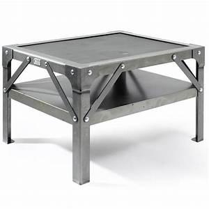 Table Basse Loft : nouveaute meuble citysigner mobilier design industriel ~ Teatrodelosmanantiales.com Idées de Décoration