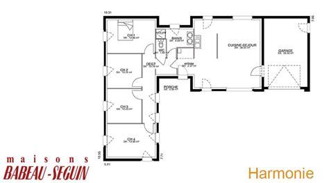 plan maison 5 chambres plain pied plan de maison plain pied 5 chambres 3 maison