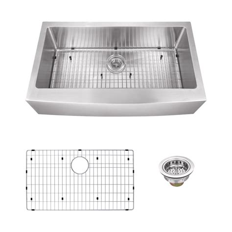 schon kitchen sinks schon all in one apron front undermount stainless steel 36