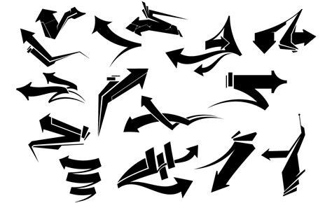 Graffiti Vector : Adobe Illustrator Arrows Vector Pack