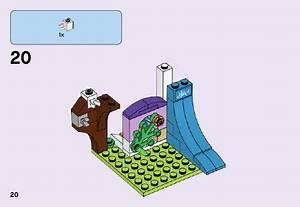 LEGO Mia39s Bedroom Instructions 41327 Friends