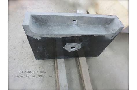 24 quot black granite bathroom sink faucet pegasus shadow
