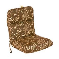 replacement patio chair cushion gipson chocolate sam s