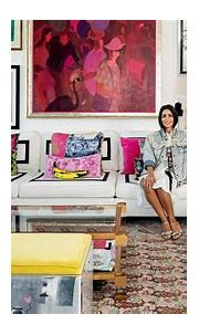 Inside Interior Designer Miri Najarian Khayat's Colourful ...