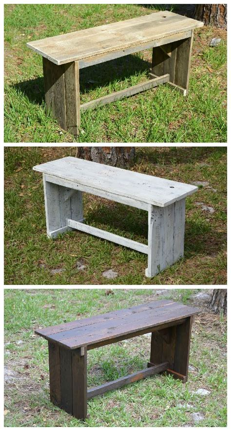 rustic benches  reclaimed pallets pallet diy wood