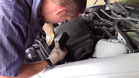 bmw  expansion tank replacement youtube