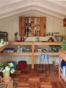 Mon Cabanon Creatif : les 7 meilleures images du tableau l 39 abri de jardin bois ~ Zukunftsfamilie.com Idées de Décoration