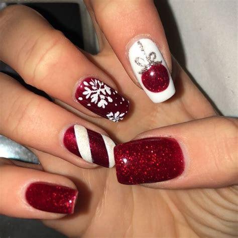 2018 christmas nails theme 60 newest nail ideas for 2018 nail