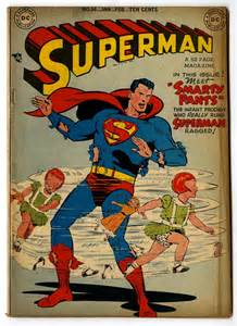 Superman Comic Front Cover