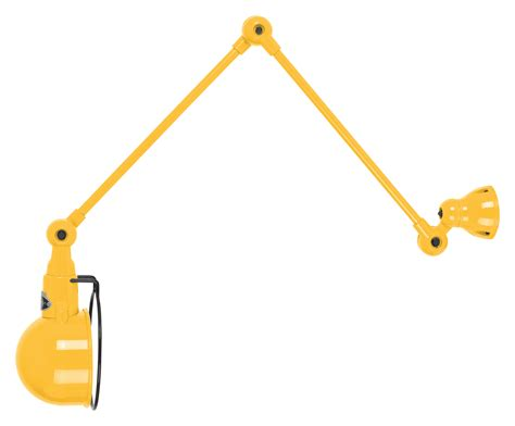 signal wall light 2 arms l max 60 cm mustard by jield 233