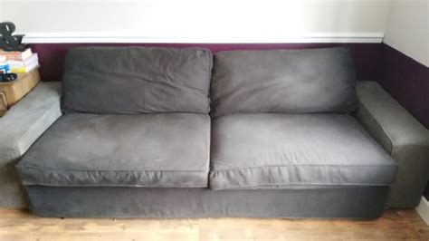 Ikea Kivik Sofa Cover Washing by Ikea Kivik 3 Seat Sofa Bed For Sale In Clarehall Dublin