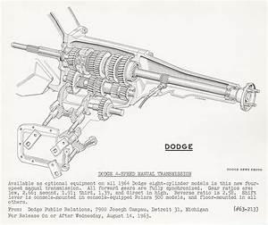 Dodge 4-speed Manual Transmission