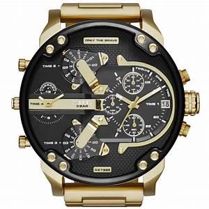 Montre Homme Diesel 2016 : montre diesel dz7333 montre acier or homme sur bijourama montre homme pas cher en ligne ~ Maxctalentgroup.com Avis de Voitures