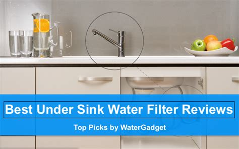 best sink material for well water best sink water filter reviews top picks 2017