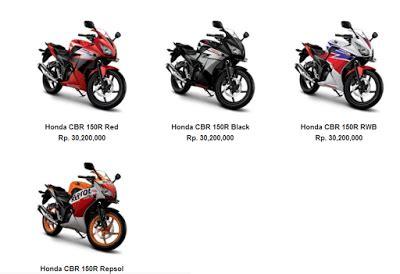 harga dan spesifikasi new honda cbr 150r terbaru autogaya