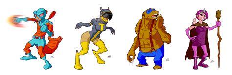 obscure animal superheroes  drawerofdrawings  deviantart