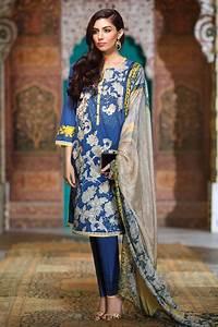 Khaadi Lawn & Chiffon Eid Dresses Collection 2016