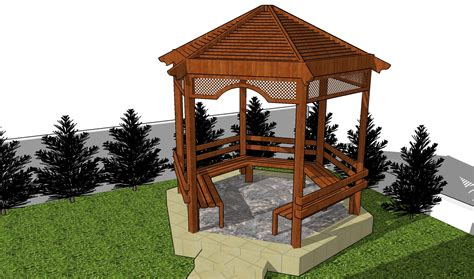 home design pergola plans  pitched roof tropical