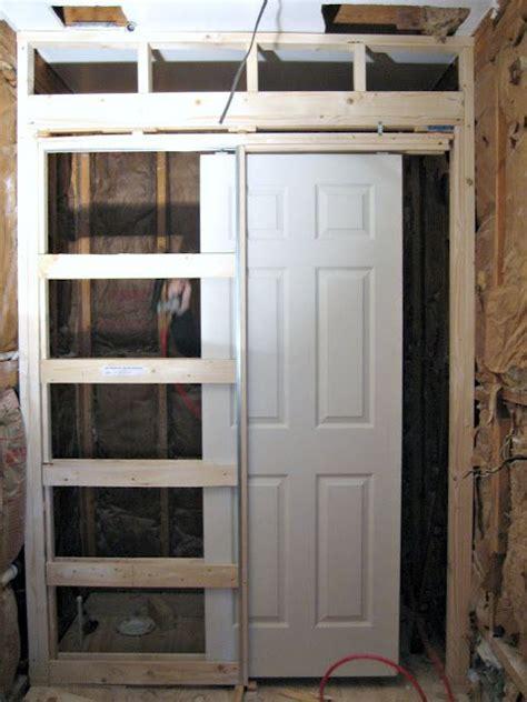 install pocket door house doors pocket doors