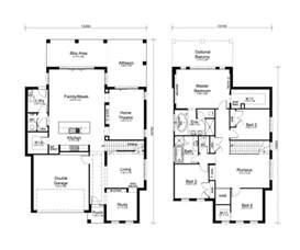 Simple Bedroom Storey House Plans Ideas by 2 Story House Plans Storey 4 Bedroom House Designs