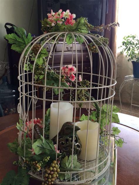 Decorative Birds - birdcage centerpiece my wreaths bird cage centerpiece