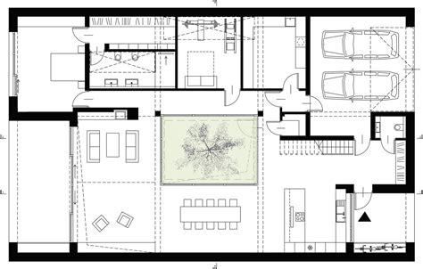 ground floor plan gallery of courtyard house inostudio 39