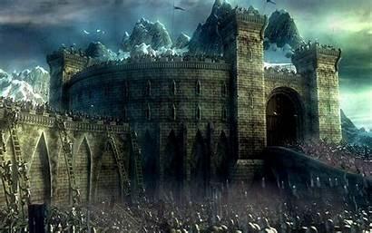 Castle Fantasy Medieval Background Backgrounds Sci Fi