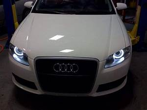 Audi A4 B7 Predator Orion V4 Led Angel Eyes With Wiring
