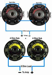 Wiring Subwoofers  U0026 Speakers To Change Ohm U2019s  U2013 Abtec Audio