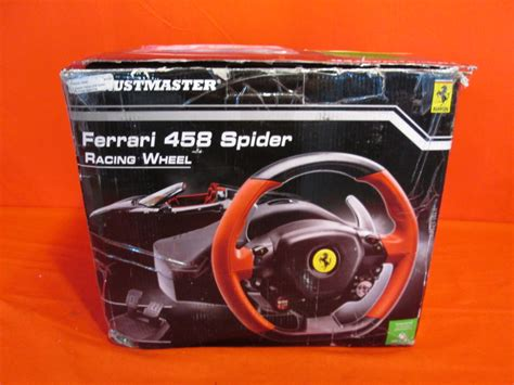 thrustmaster vg ferrari  spider racing wheel xbox