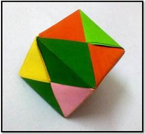 How to make an Origami Cube • Art Platter