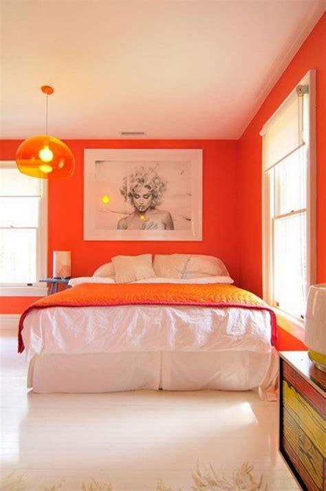 Color Ideas Orange by Orange Bedroom Interior Design Ideas Add A Summer Vibe