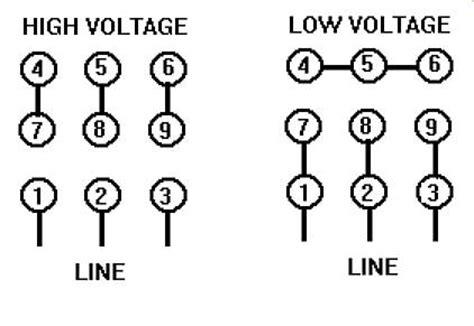 230 460 volt motor wiring  drone fest