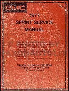1977 Chevy El Camino Gmc Sprint Wiring Diagram Original