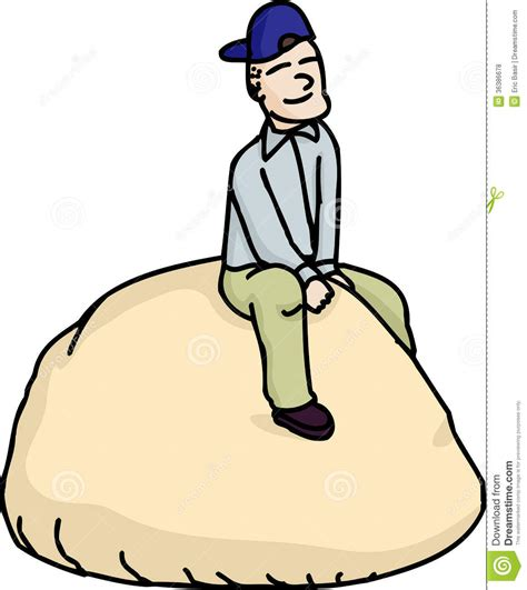 cartoon rolls on a roll stock vector image of bread good drawn humor