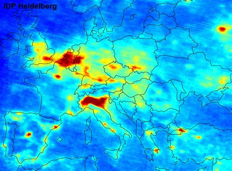 Carte Europeenne Pollution by La Terre Du Futur