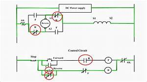 Reversing The Direction Of Rotation Of A Dc Compound Motor  Dc Motor Forward Reverse